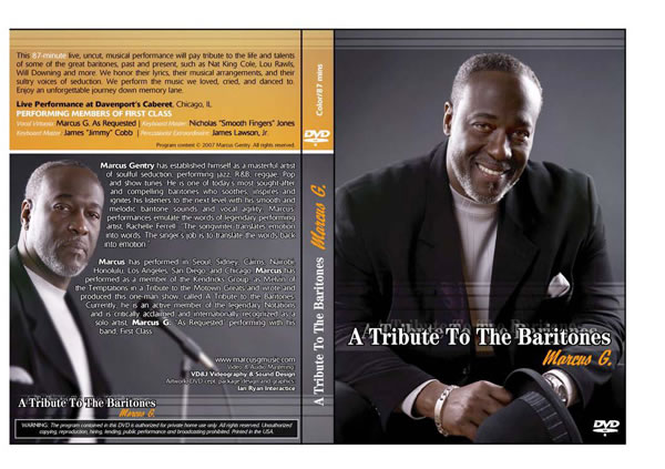 Marcus Gentry - A Tribute To The Baritones DVD